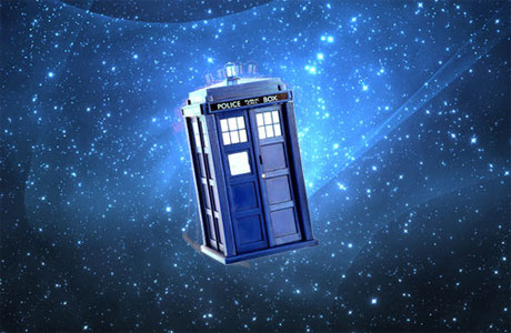 The TARDIS. There's a reason why it looks like that.