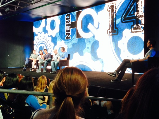 Will Poulter, Kaya Scodelario, Dylan O'Brien, Wes Ball, James Dashner and Zachary Levi