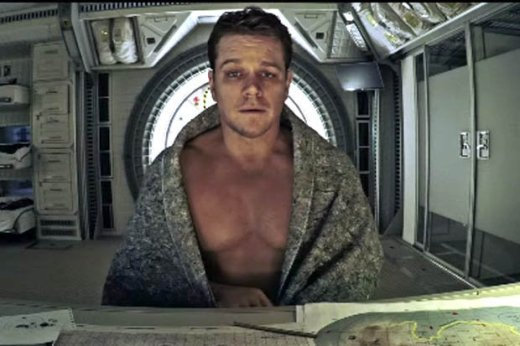 matt damon not happy martian